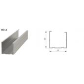 Профиль ПС-2 50х50 Стандарт 0,5мм L=3,00