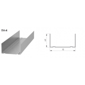 Профиль ПН-4 75х40 Стандарт 0,5мм L=3,00
